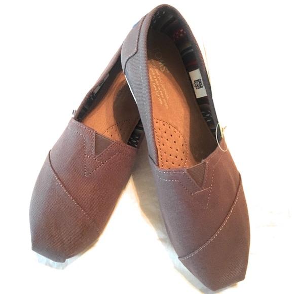 6d1ada8f9c0 Toms Women s Classic Canvas Ash Flat Shoe size 8